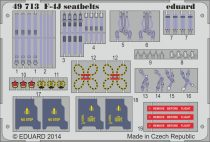 Eduard F-4J seatbelts (Academy)