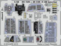 Eduard F-4D interior S.A. (Academy)