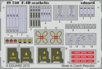 Eduard F-4D seatbelts (Academy)