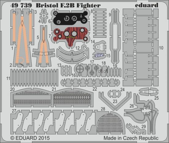 Eduard Bristol F.2B Fighter (Revell)