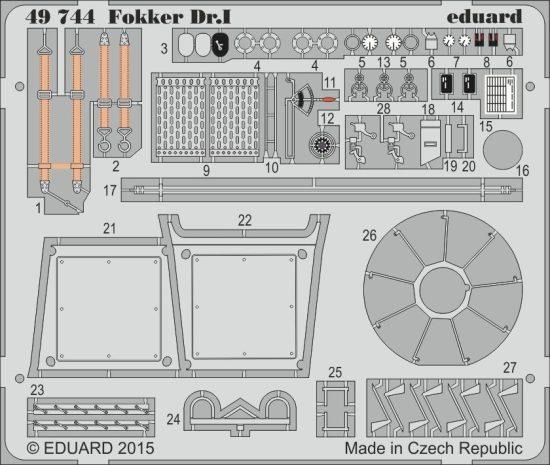 Eduard Fokker Dr.I (Revell)