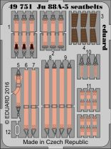Eduard Ju 88A-5 seatbelts (Icm)