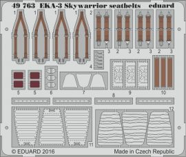 Eduard EKA-3 Skywarrior seatbelts (Trumpeter)