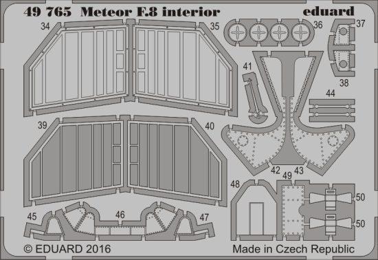 Eduard Meteor F.8 interior (Airfix)