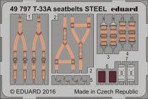 Eduard T-33A seatbelts STEEL (Great Wall Hobby)