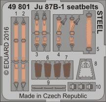 Eduard Ju 87B-1 seatbelts STEEL (Airfix)