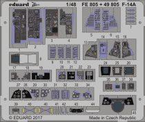 Eduard F-14A interior (Tamiya)