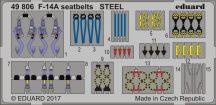 Eduard F-14A seatbelts STEEL (Tamiya)