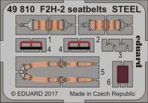 Eduard F2H-2 seatbelts STEEL (Kitty Hawk)