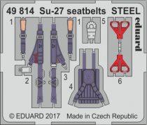 Eduard Su-27 seatbelts STEEL (Hobby Boss)