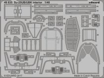 Eduard Su-25UB/ UBK interior (SMER)