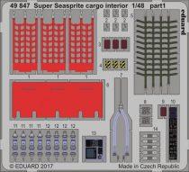 Eduard Super Seasprite cargo interior (Kitty Hawk)