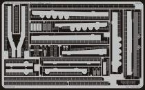 Eduard US Aircraft Carrier Hornet railings (Trumpeter)