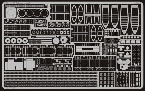 Eduard USS Arizona (Mini Hobby Models)