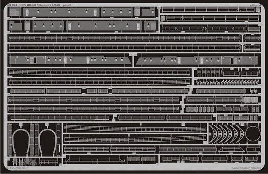 Eduard USS BB-63 Missouri (Tamiya)