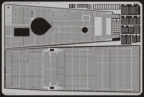 Eduard Gato class floor plates (Revell)