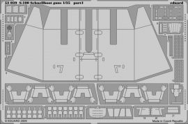 Eduard S-100 Schnellboot guns (Italeri)