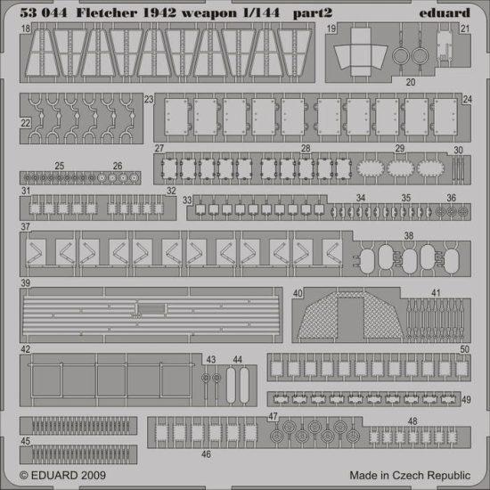 Eduard Fletcher 1942 weapons (Revell)