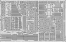 Eduard USS Missouri part 7 - superstructure (Trumpeter)