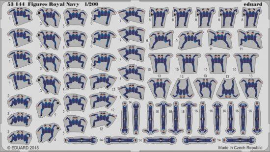 Eduard Figures Royal Navy