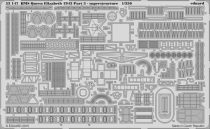 Eduard HMS Queen Elizabeth 1943 pt 3 - superstructure (Trumpeter)