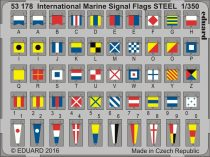 Eduard International Marine Signal Flags STEEL