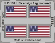 Eduard USN ensign flag modern STEEL