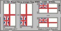 Eduard Royal Navy ensign flag WWII STEEL
