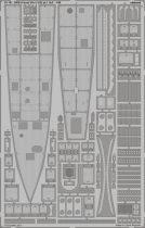 Eduard DKM U-boat VIIc U-552 pt.1 hull (Trumpeter)