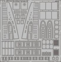 Eduard DKM U-boat VIIc U-552 pt.3 hull body (Trumpeter)