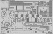 Eduard HMS Hood pt. 7 main top (Trumpeter)