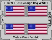 Eduard USN ensign flag WW2 STEEL