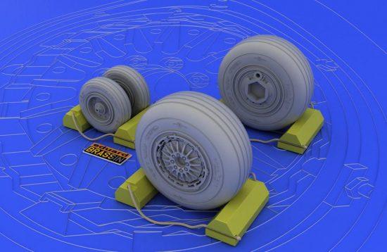 Eduard F-4C/D/E/F/G wheels (TAMIYA)