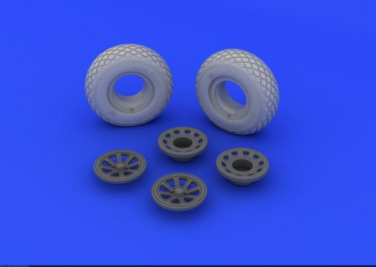 Eduard P-51 wheels (TAMIYA)