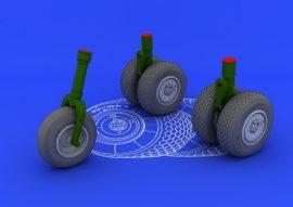 Eduard He 219 wheels (REVELL)