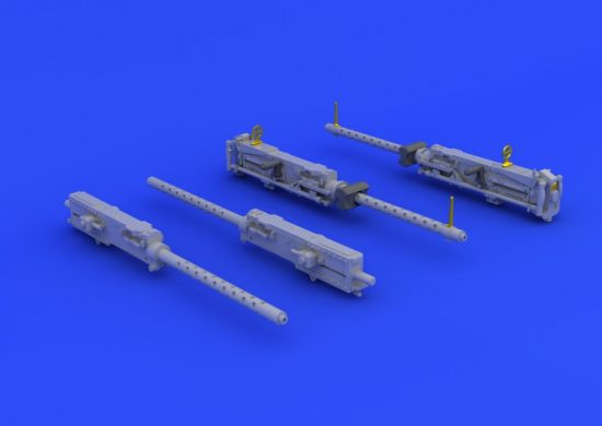 Eduard B-17G guns (HONG KONG MODELS)