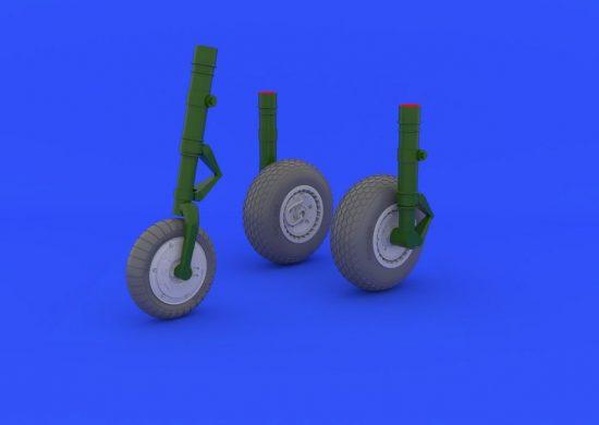Eduard Me 262 wheels (TRUMPETER)