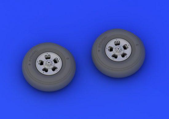 Eduard Spitfire Mk.I/II wheels (REVELL)
