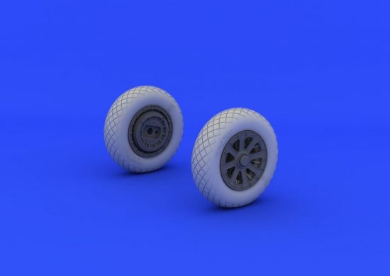 Eduard F4U-1 wheels diamond pattern (TAMIYA)
