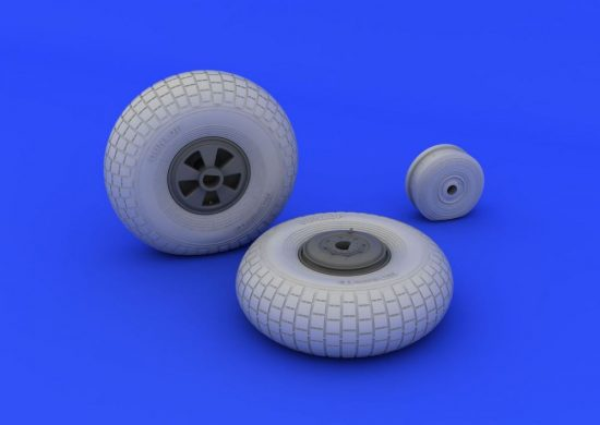Eduard Mosquito FB Mk.IV wheels (HONG KONG MODELS)