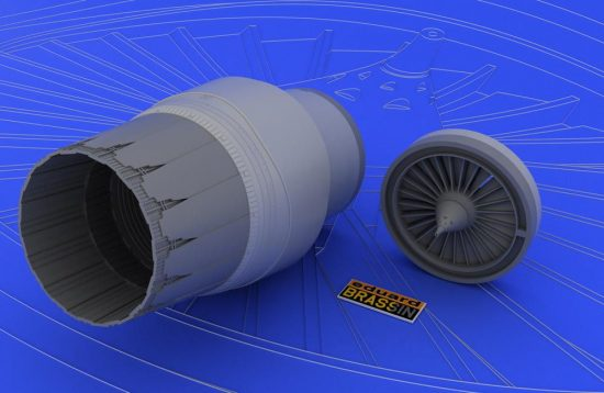 Eduard F-16CJ Block 52 engine (TAMIYA)