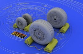 Eduard F-4C/D/E/F/G wheels (HASEGAWA)