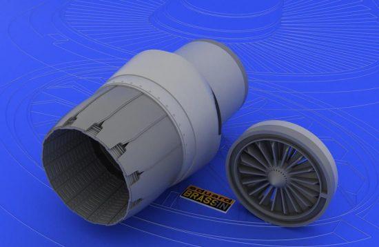 Eduard F-16CJ Block 50 engine (TAMIYA)