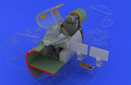 Eduard MiG-21SMT interior (EDUARD)