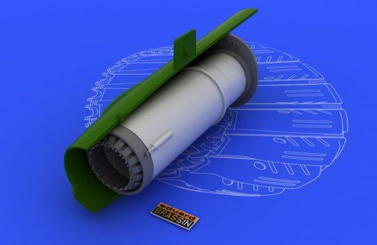 Eduard MiG-21BIS exhaust nozzle (EDUARD)
