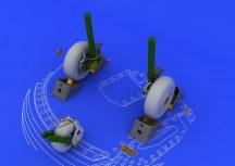 Eduard Su-27 wheels (ACADEMY)