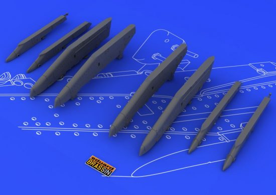 Eduard Su-25K wing pylons