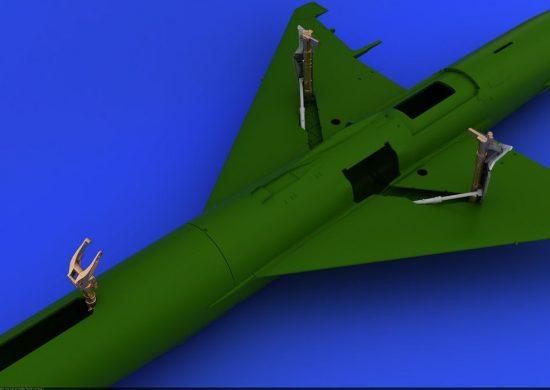 Eduard MiG-21 undercarriage legs BRONZE (EDUARD)