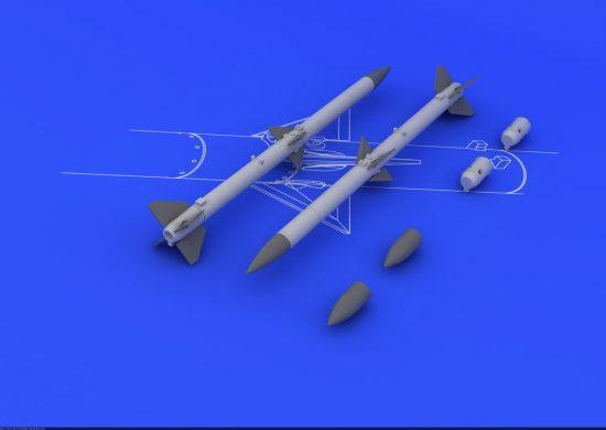 Eduard AIM-120A/B AMRAAM (2pcs)
