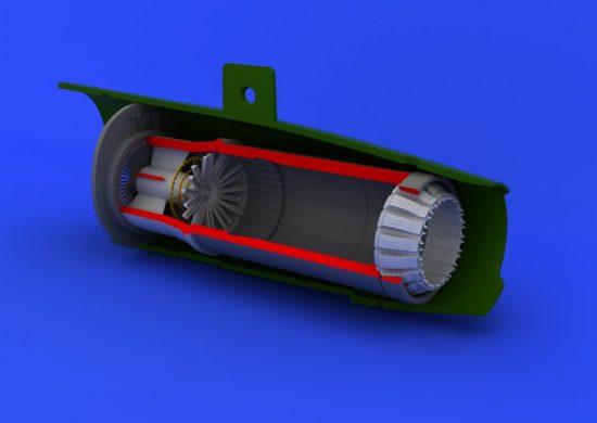 Eduard MiG-21PF/PFM exhaust nozzle (EDUARD)